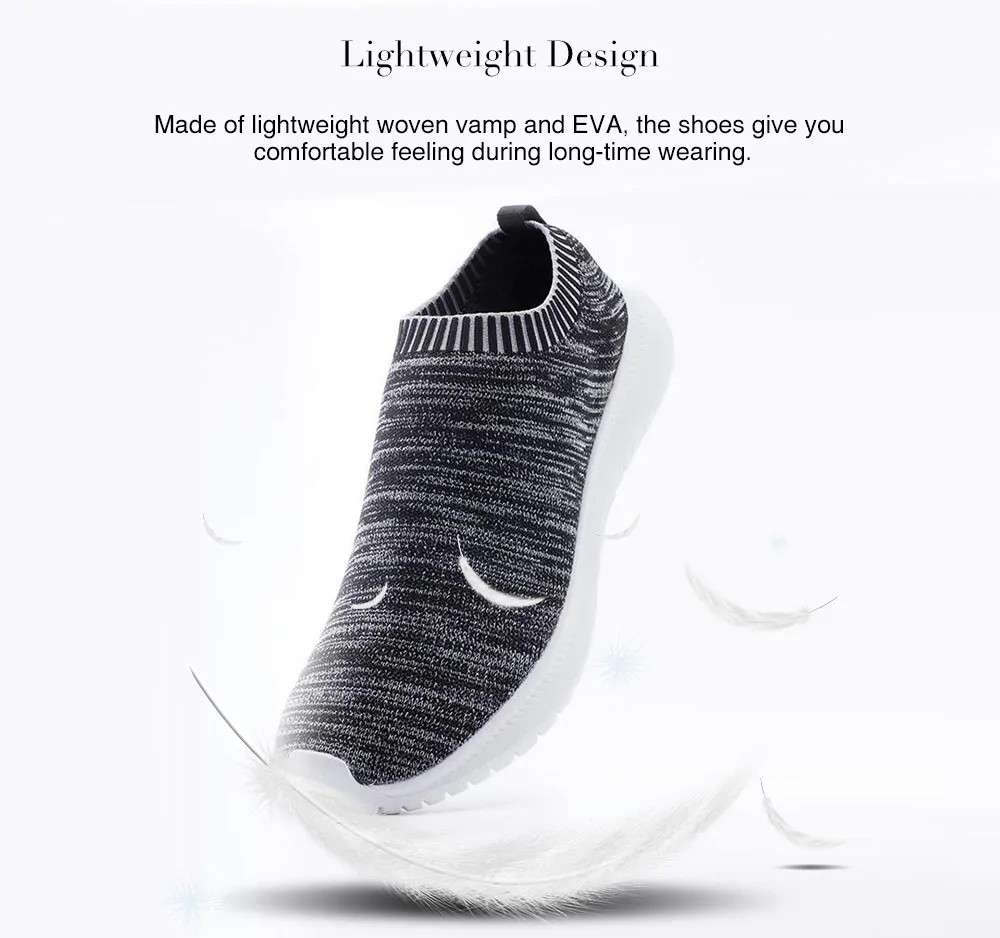 UREVO Casual Lightweight Breathable Sneakers for Men from Xiaomi Youpin- Black 42