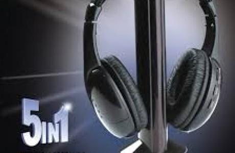 תשמעו טוב! אוזניות אלחוטיות איכותיות, מתאימות לטלוויזיה ומחשב