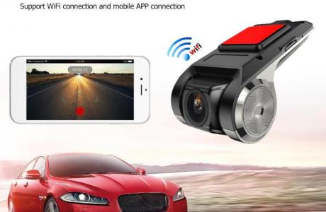 מצלמת דרך באיכות FULL HD 1080P עם ממשק WIFI