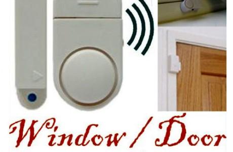 אזעקה רבת עוצמה להצמדה על חלון או דלת ללא חוטים וללא התקנה!