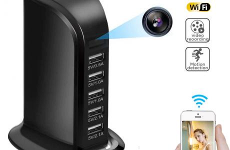 מצלמה נסתרת WIFI סמויה במפצל USB