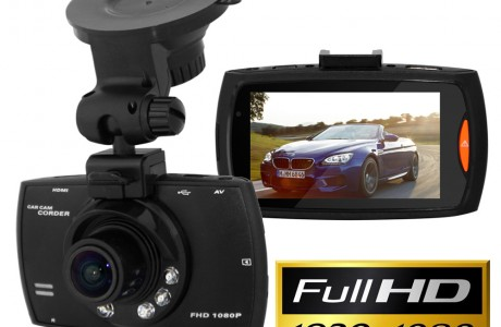 מצלמת וידאו איכותית לרכב HD 1080P מקליטה עם זווית צילום רחבה וראיית לילה