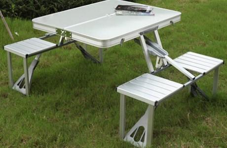 אוהבים לטייל? שולחן פיקניק מתקפל למזוודה