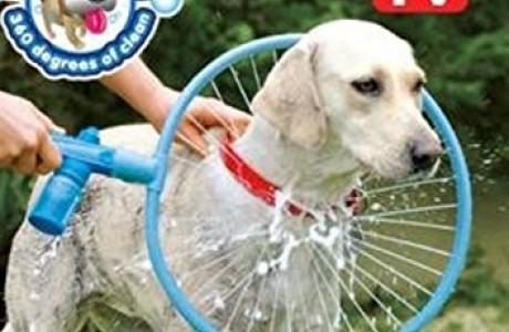מכשיר לרחיצת כלבים בקלות ובמהירות! ווף ווש WOOF WASHER 360