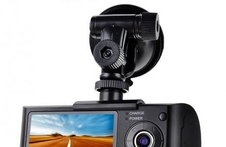מצלמת HD לרכב עדשה כפולה r300 - x3000
