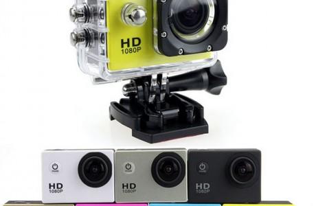 מצלמת אקסטרים לפעילויות ספורט בים באוויר וביבשה!