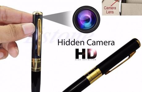 עט יוקרתי עם מצלמה נסתרת באיכות HD