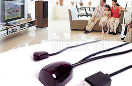 עינית לממיר אינפרא אדום (IR) בודדת, מתח משקע USB