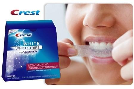 מודיעין ערכת הלבנת שיניים ביתית Crest whitestrips 3D advanced vivid RO-59